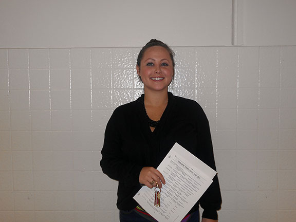 ELAR teacher Sescelli Redd will serve on the Safety/Security/Crowd Control team during Friday's mock disaster drill.