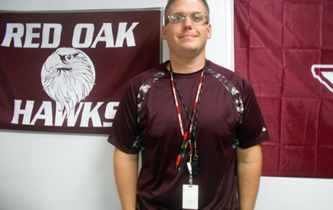 Coach Matthew McCullough, technology teacher at ROJH, will serve on the Safety/Security/Crowd Control team during Friday's mock disaster drill.