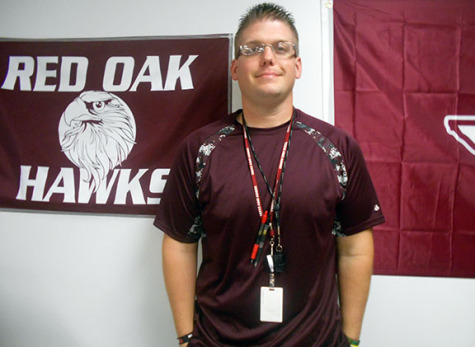 Coach Matthew McCullough, technology teacher at ROJH, will serve on the Safety/Security/Crowd Control team during Friday