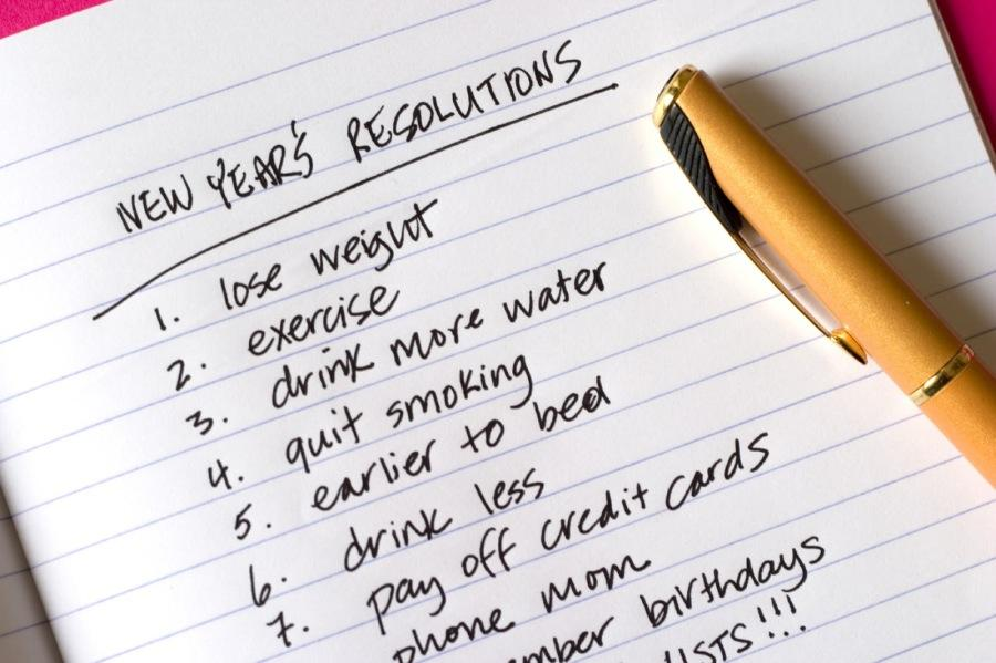 Resolve to not let resolutions drag you down