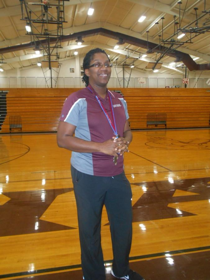 8th grade ELAR teacher Paige Patterson coaches the 7th grade girls basketball teams at ROJH. Patterson played basketball in high school and college.
