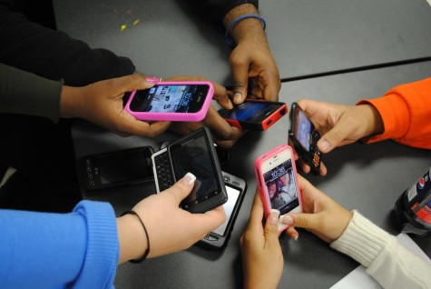 Issue of the week: Are cell phones in class a good idea?