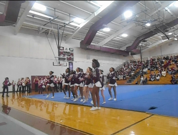 School celebrates basketball, UIL at pep rally