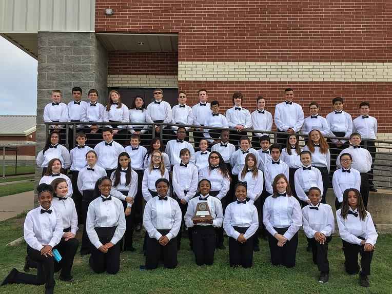 Symphonic Bands I and II took home top honors at their UIL performance April 9 and 10.