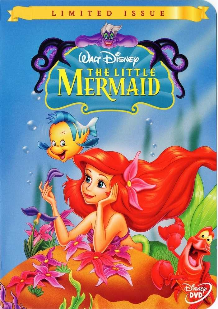 The-Little-Mermaid-Limited-Issue-Disney-DVD-Cover-walt-disney-characters-19287329-701-990