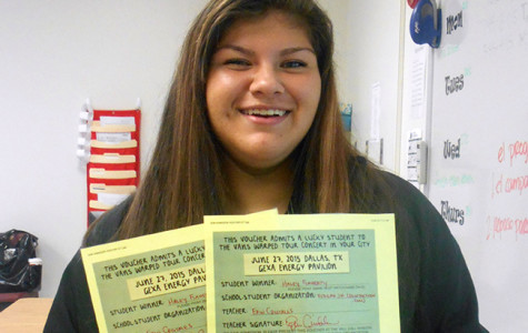Haley Flaherty wins Warped Tour tickets