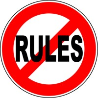 Issue of the week: Who needs rules, anyway?