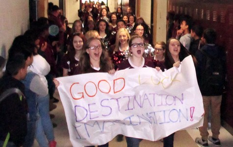Destination Imagination send-off