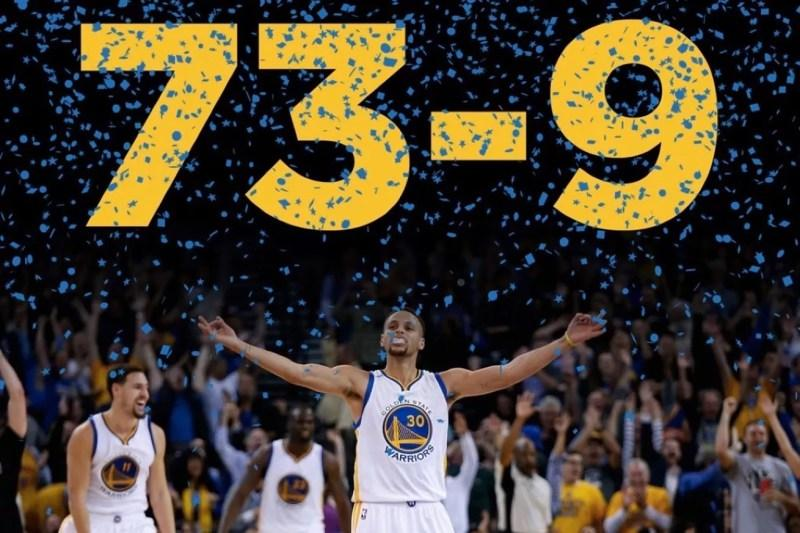 Golden State sets new regular season win record