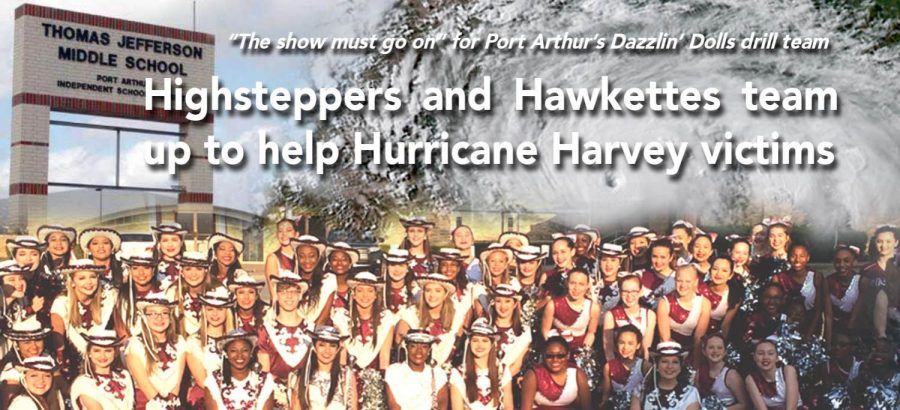 Highsteppers+and+Hawkettes+team+up+to+help+Hurricane+Harvey+victims