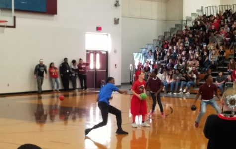Partner PE, Theatre battle for lead vs. ROMS staff in annual dodgeball tournament