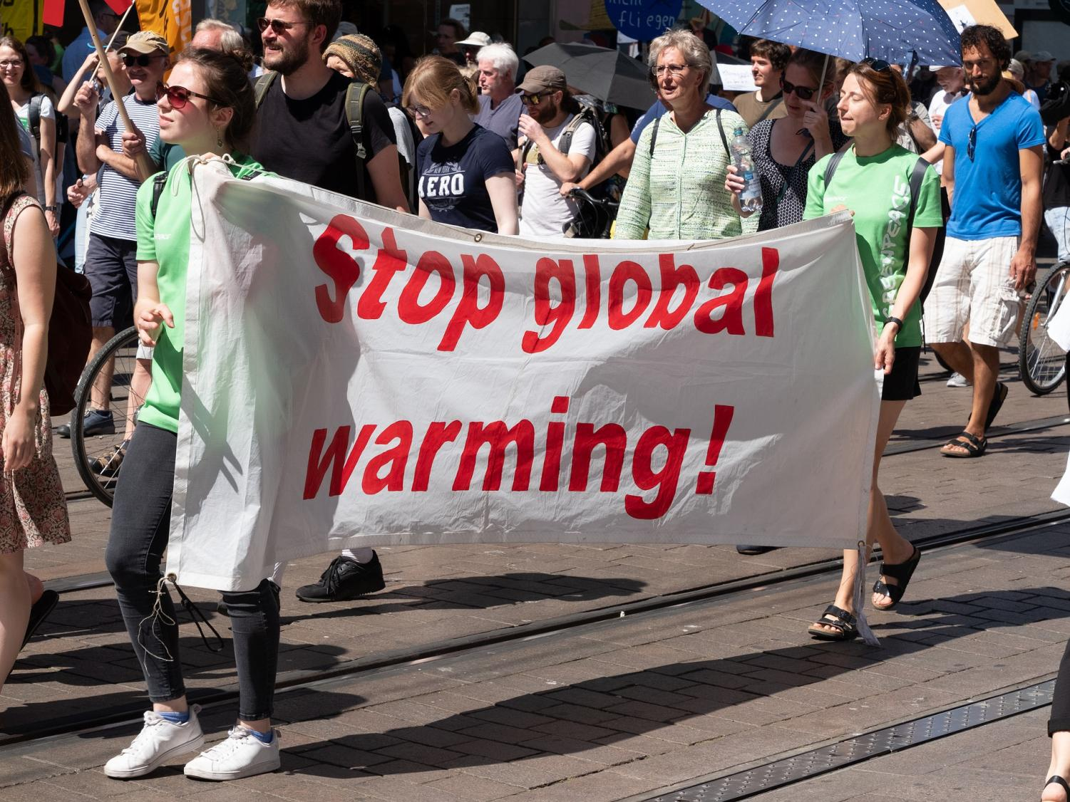 Global warming and climate change not just a